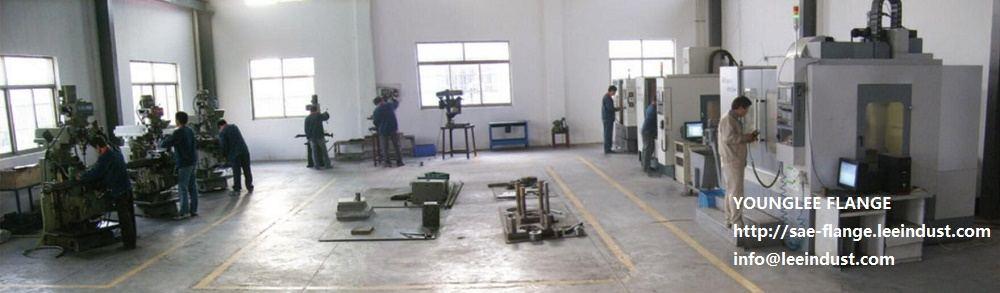Workshop of SAE flange manufacture